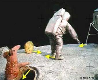 アポロ着陸の謎