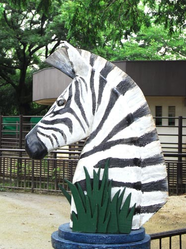 姫路05シマウマ像