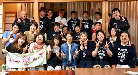浄明寺ライブ交流会夜の部記念写真170614