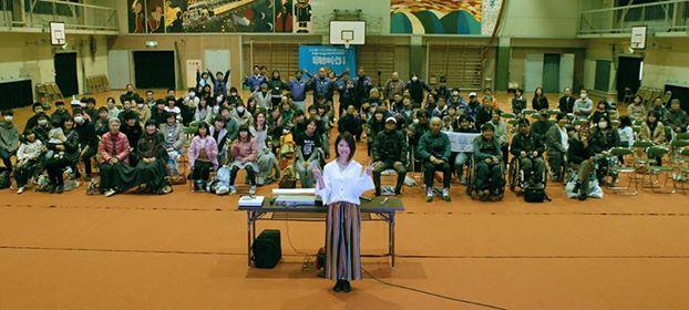 コトノ飯岡小ライブ記念写真180120