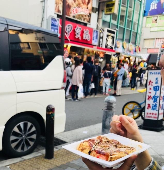 大阪ミニライブにてタコヤキ