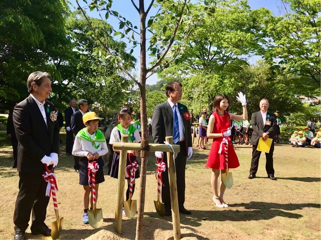 愛媛県植樹祭04