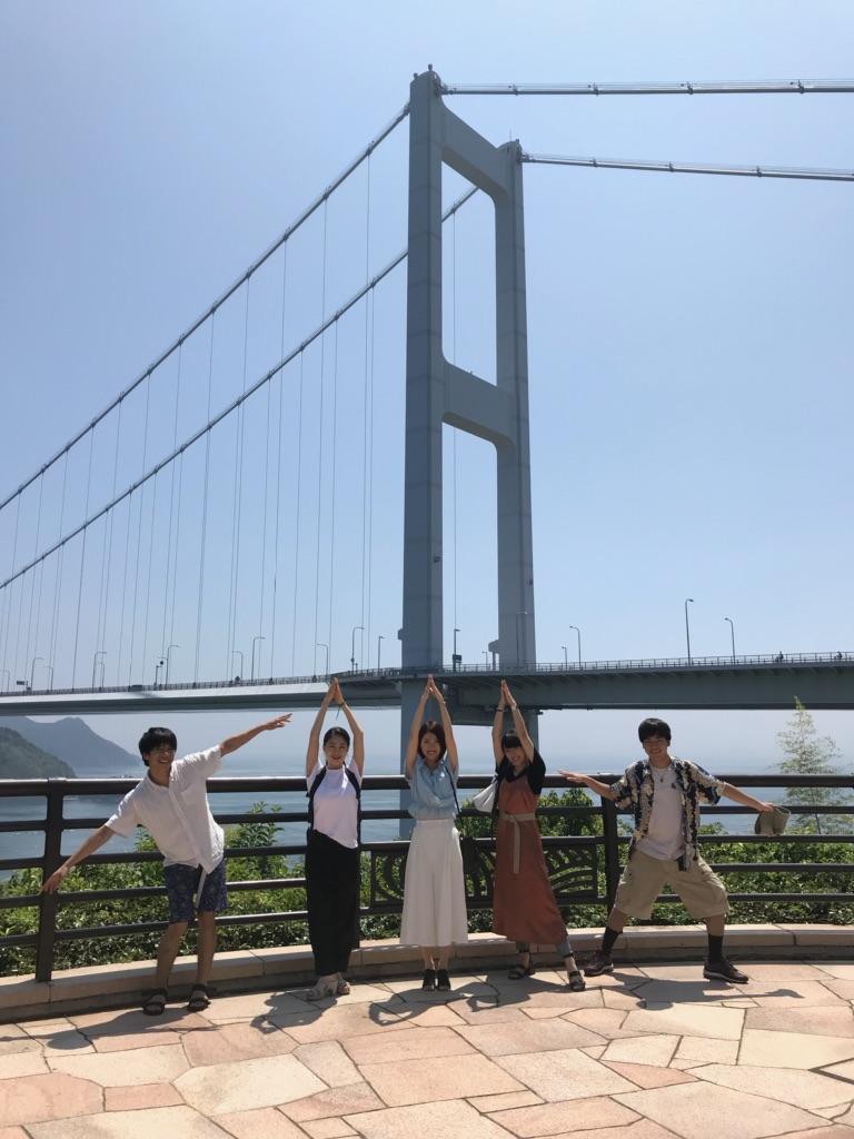 コトノとダンサーのミンナとしまなみ海道