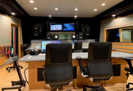 レコーディングスタジオにて♪