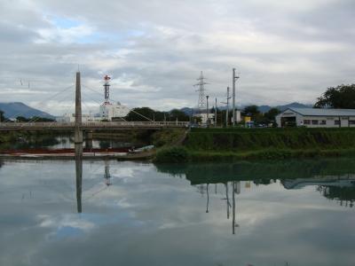 堤ヶ浦の館の川湊跡