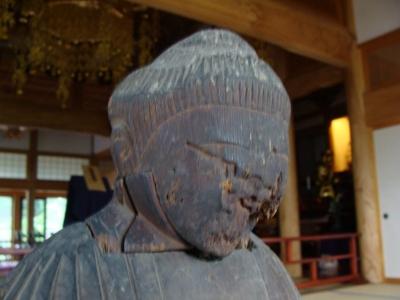 梵珠山の円空仏の貌