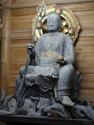 地蔵菩薩半跏像
