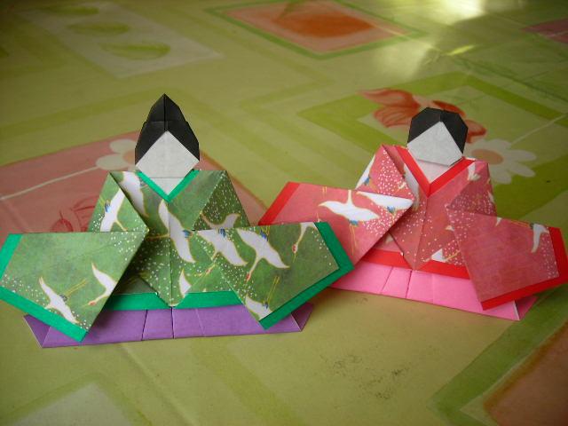 折り紙 折り紙 作り方 箱 : 折り紙お雛様の作り方|簡単 ...