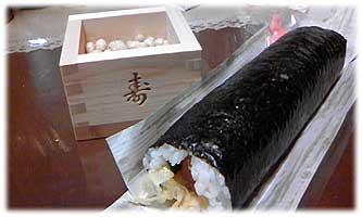 節分・巻き寿司