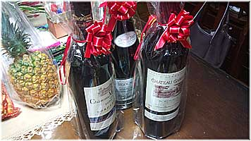 誕生日プレゼント・ワイン