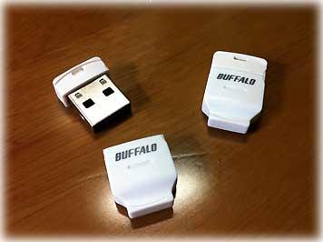 BUFFALO・microSDアダプタ