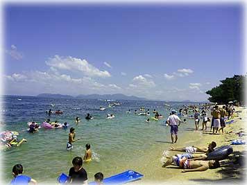 琵琶湖 近江舞子 BBQ
