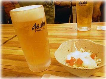 ビール・つまみ
