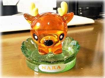 奈良土産・シカの置物