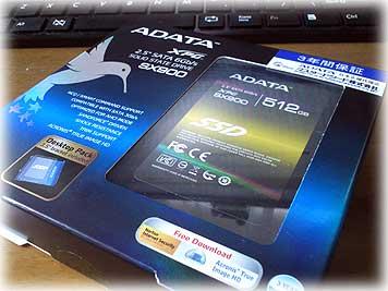 ADATA・SSD512GB