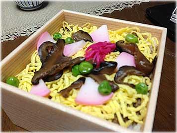 とり松・ばら寿司