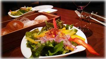京都ブライトンホテルのワインブッフェ