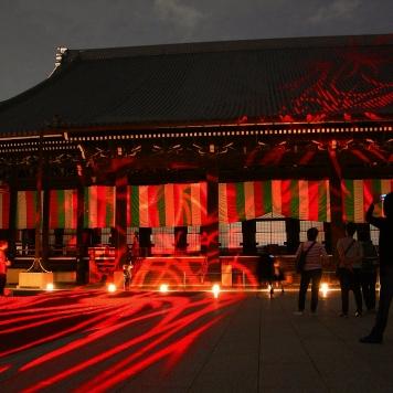 西本願寺ライトアップ
