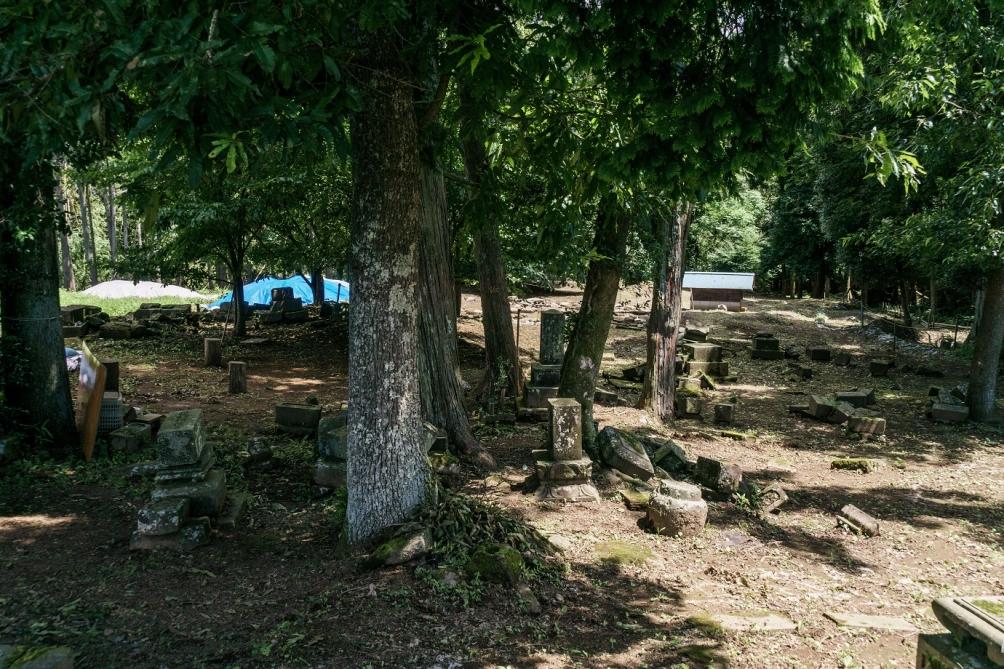 下藤地区キリシタン墓地
