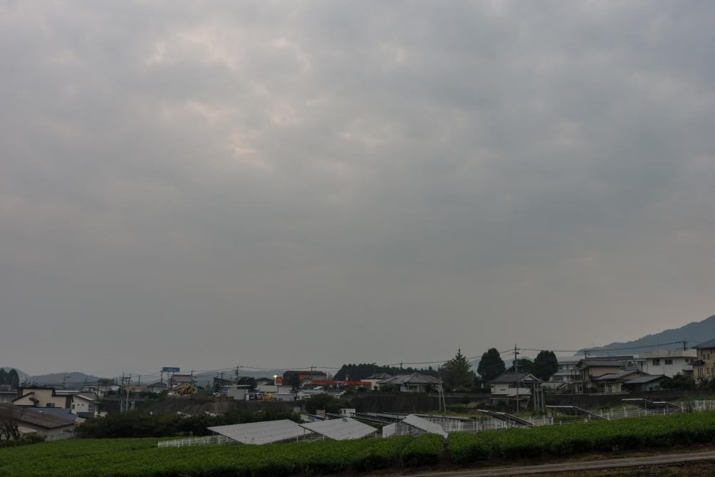 2018/10/10三重町の早朝