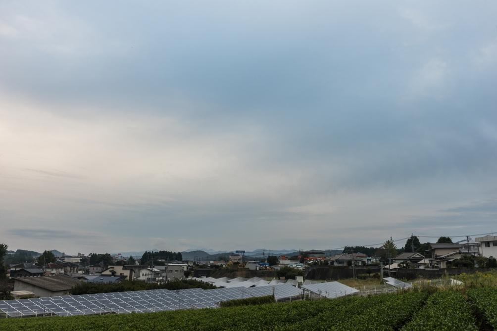2018/10/16三重町の早朝