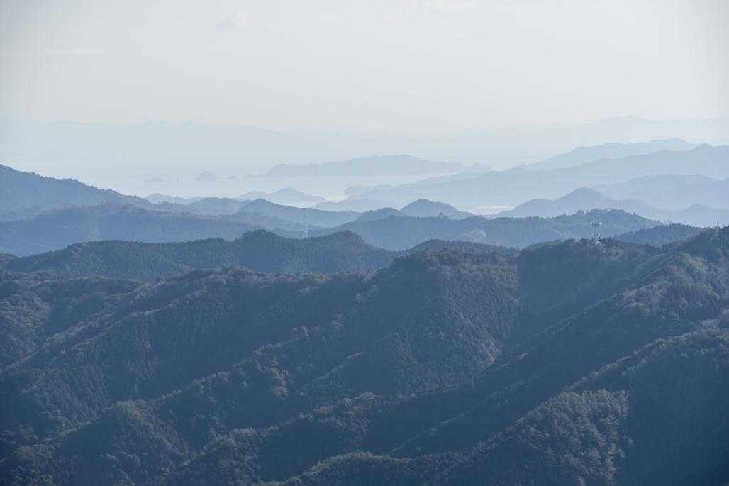 佩楯山から