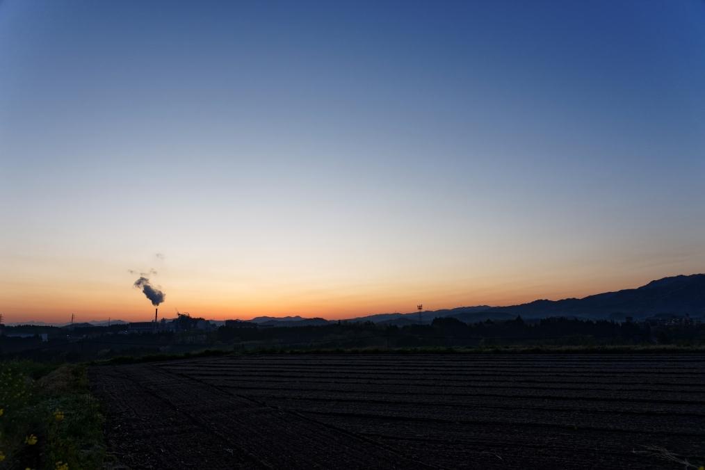 三重町芦刈からの風景