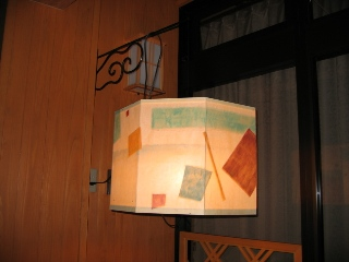 肘折の灯 灯篭 大穀屋