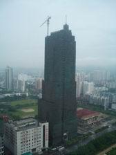 立ち枯れの高層ビル