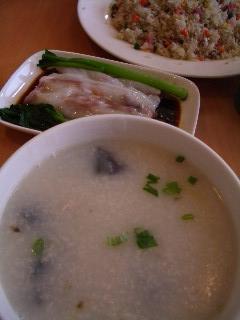 粥と麺と炒飯