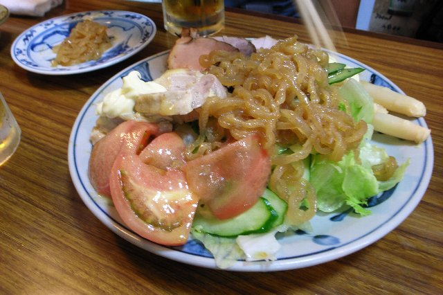 生野菜(何処が!)