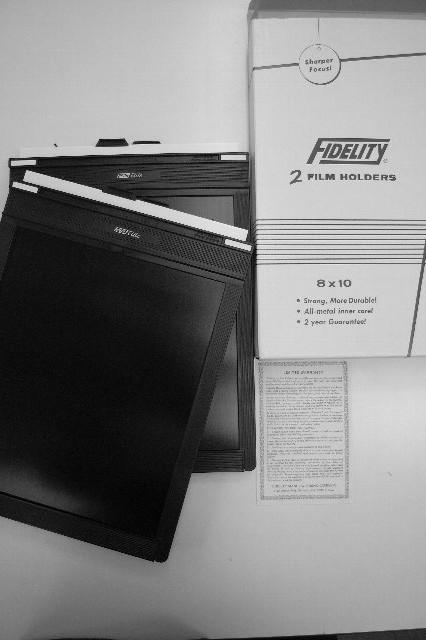 8×10フィルムホルダーを新調