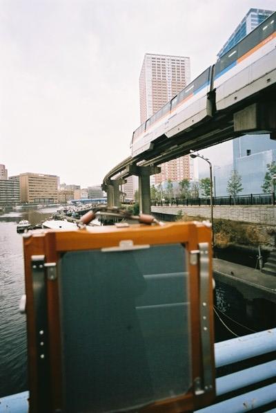 モノレール&舟溜り