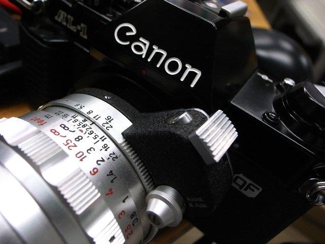 Steinheil Auto-Quinaron+Canon AL-1