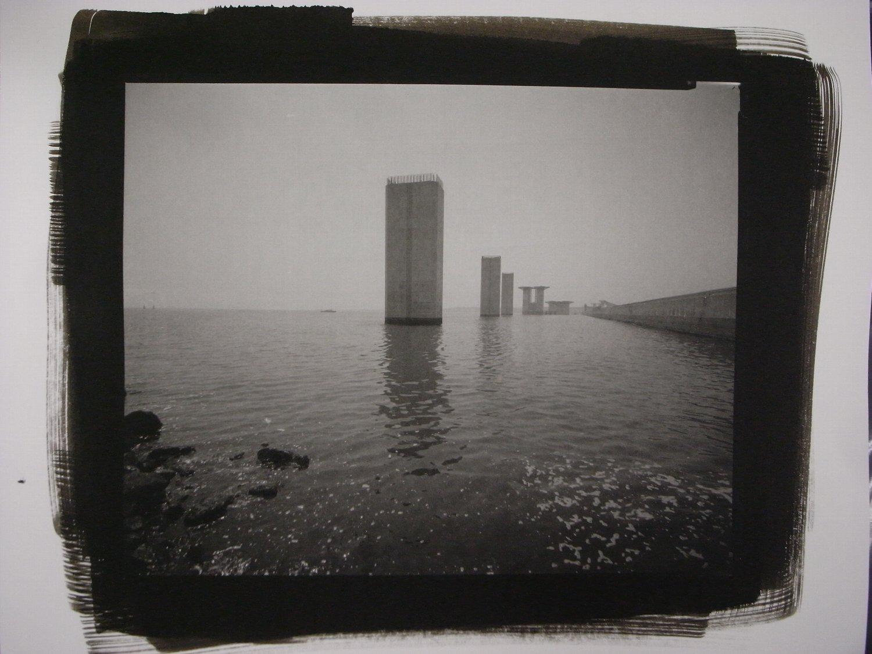 東京臨海大橋建設地