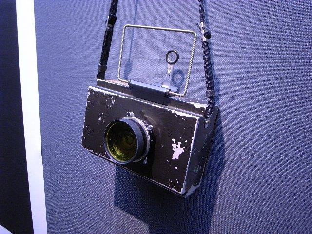 �木松寿さんのハンディ4×5カメラ