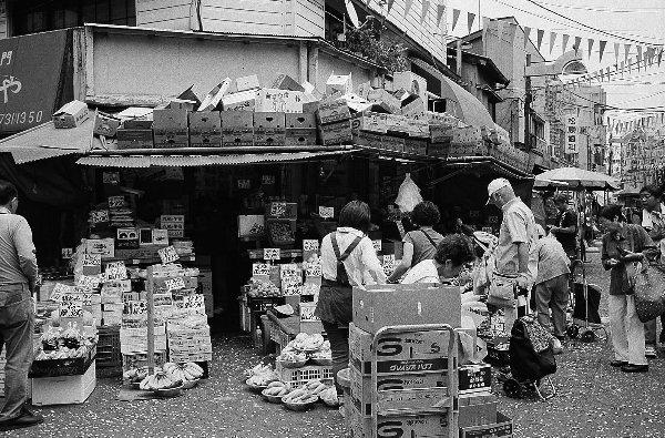 横浜のマーケット