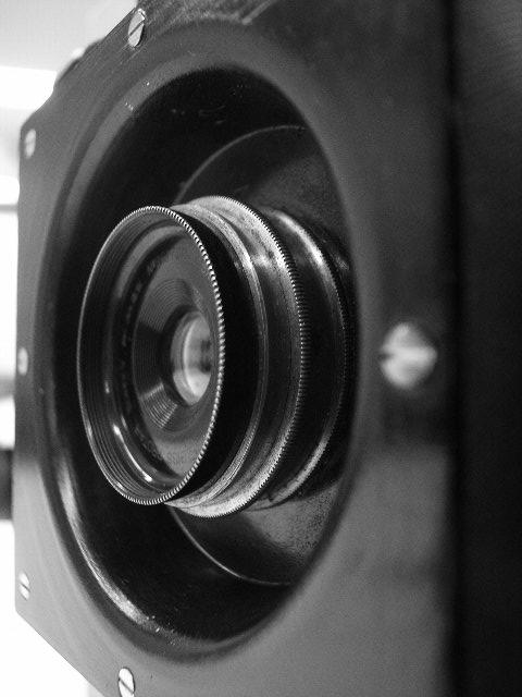 Protar 141mmオリジナル・ハンディ8×10カメラ
