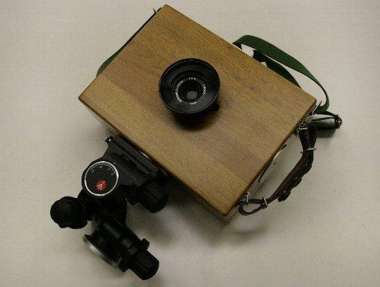 4×5カメラとmanfrotto 410