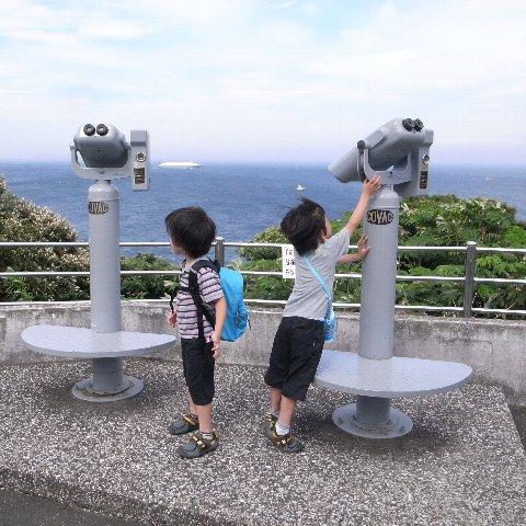 2009−7観音崎にて
