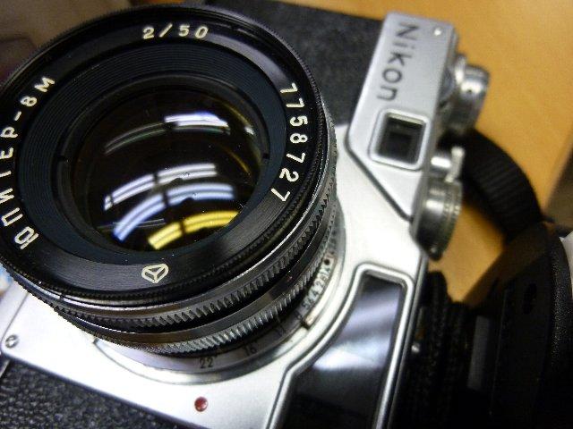 NIKON SP+ジュピター 50mm 1:2