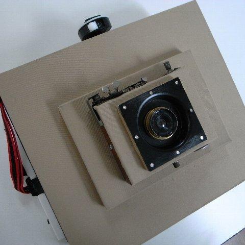 Protar 8×10 Box Camera