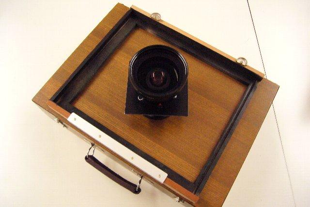 ホルベインスケッチ箱で8×10カメラ作り