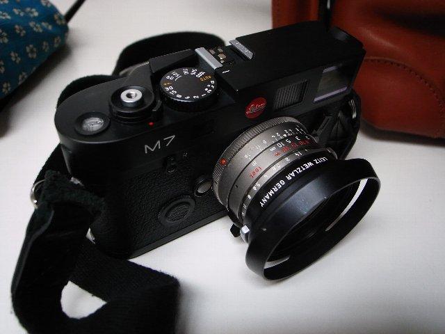 Leicaも使います