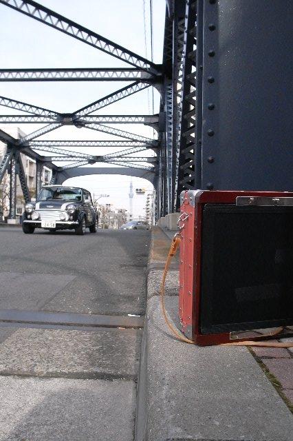 トラス橋とハンディ8×10