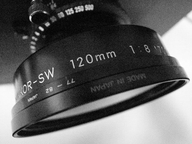 NIKKOR SW120mm f8