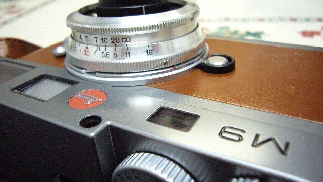 Leica M9+BALTAR 35mm f2.3
