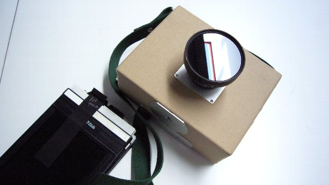 IR400Filmと4×5カメラ