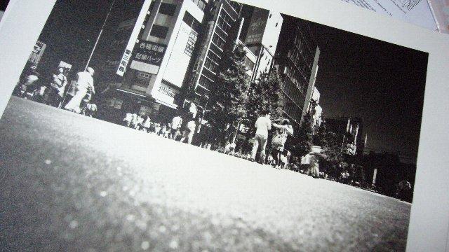 赤外線写真のプリント