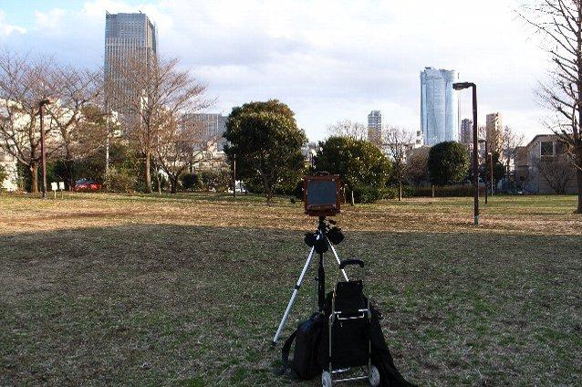 2007-01-11 8X10撮影中